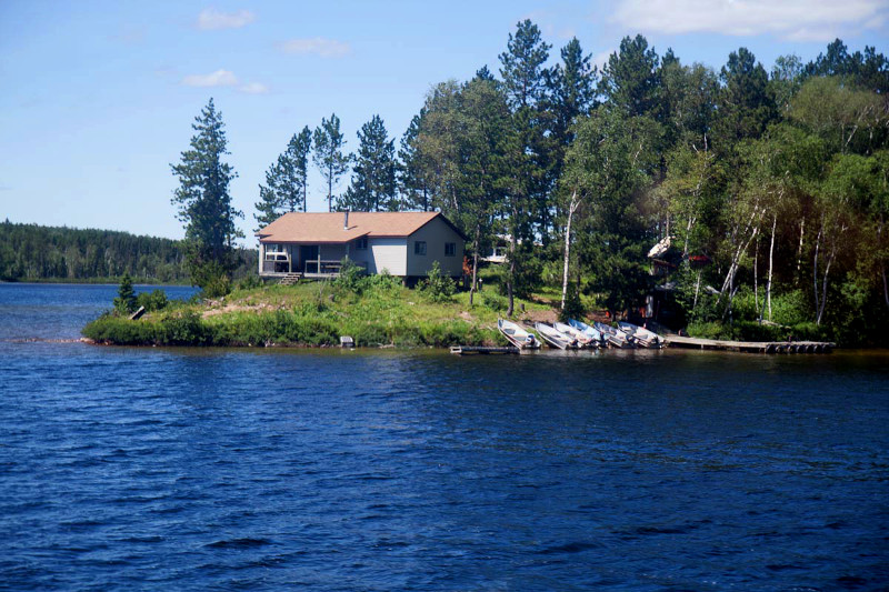 Ignace Outposts Irene Lake Point Outpost
