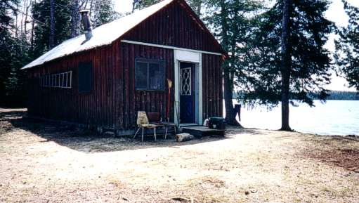 Johnston's Outpost Camp on Bayfield Lake