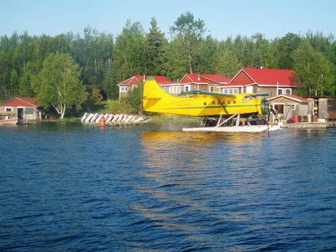 Jack Green's Fly-In Camps Poplar Grove Camp on Birch Lake