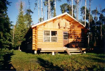 Johnston's Outpost Camp on Lessard Lake