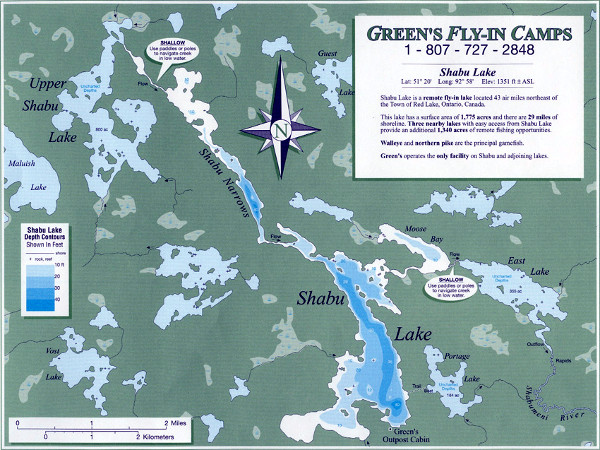 Jack Green's Fly-In Camps Shabu Lake Outpost