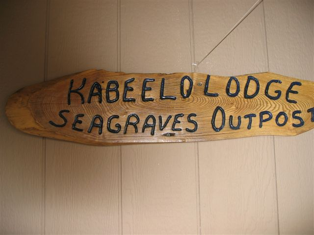 Kabeelo Lodge Seagrave Lake Outpost