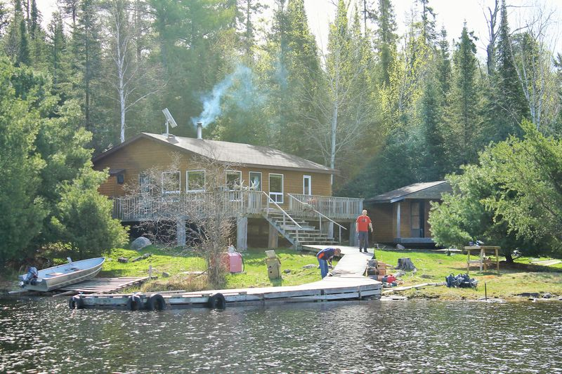 Kashabowie Outposts Bemar Lake Outpost