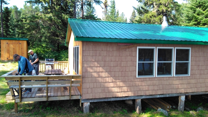 Kashabowie Outposts Grew Lake Outpost