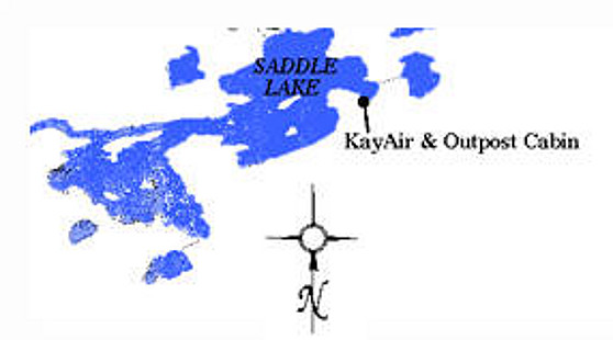 KayAir Service and Outposts Saddle Lake Outpost