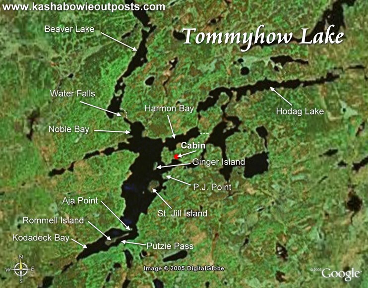 Kashabowie Outposts Tommyhow Lake Outpost