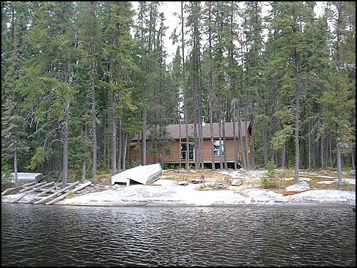 Latreille Lake Lodge Allison Lake Outpost