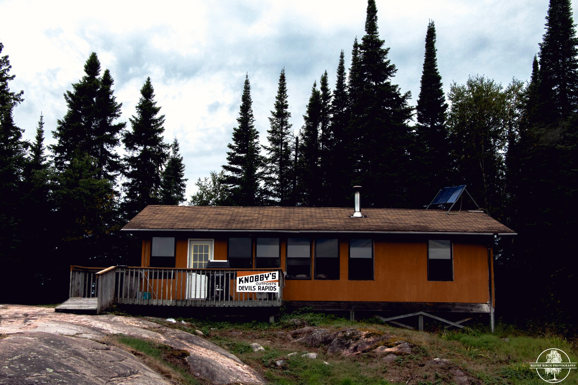 Knobby's Fly-In Lodge and Outposts Kezik Lake Devil's Rapids Outpost