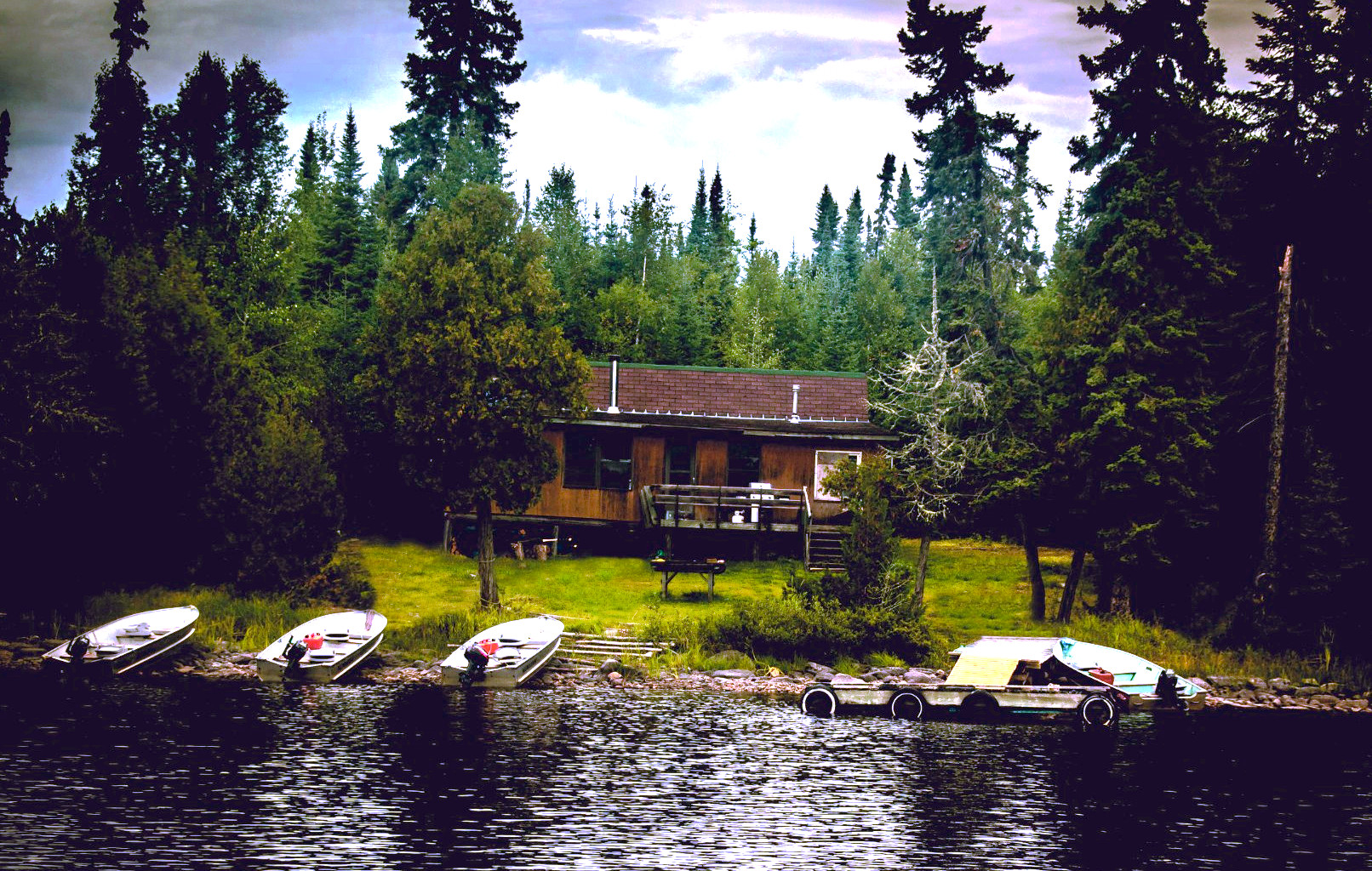 Knobby's Fly-In Lodge and Outposts Fry Lake Outpost