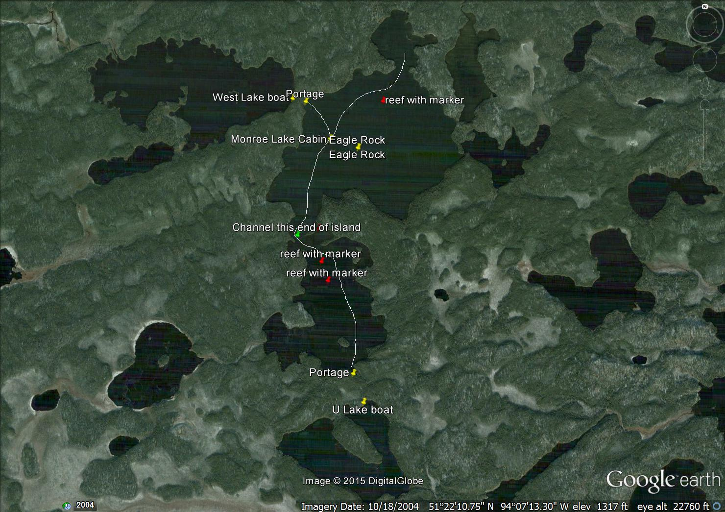 Loon Haunt Outposts Monroe Lake Outpost