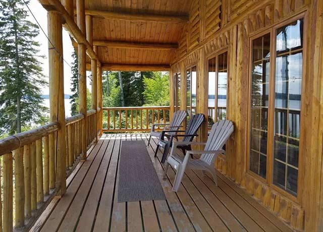 Mar Mac Lodge Northend Outpost on Esnagi Lake
