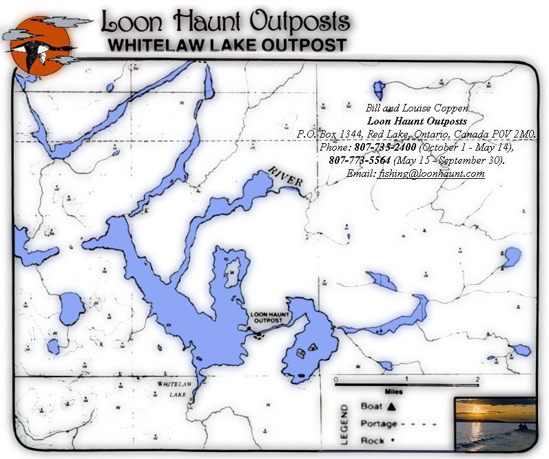 Loon Haunt Outposts Whitelaw Lake Outpost