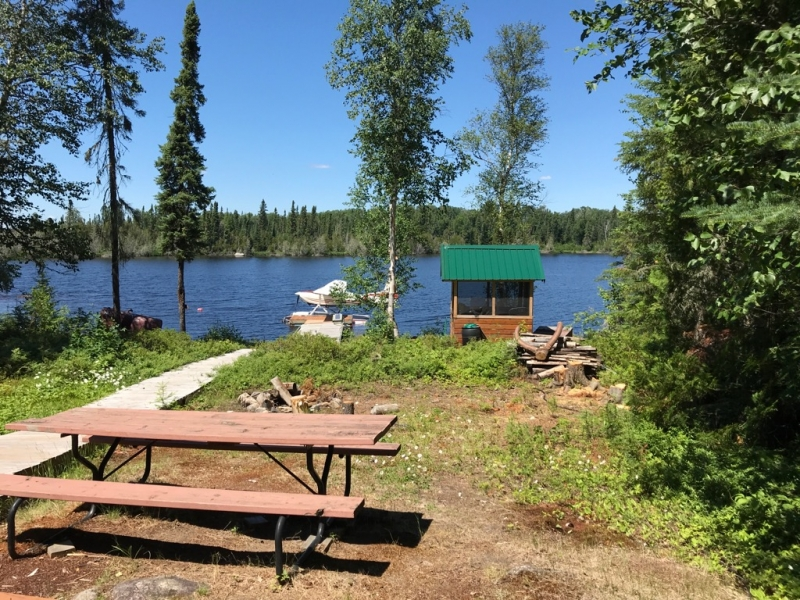 Clark's Resorts & Outposts Aerial Lake Outpost