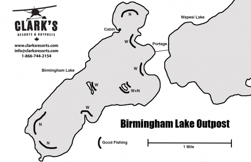 Clark's Resorts & Outposts Birmingham Lake Outpost