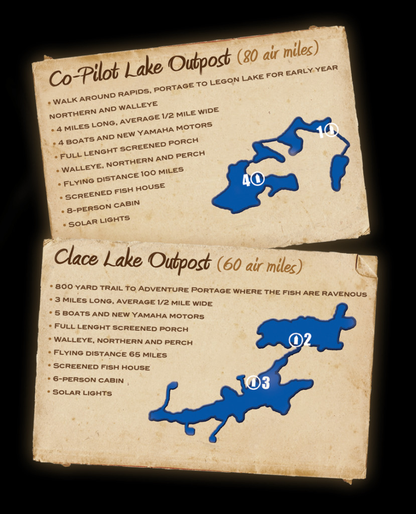 Northwinds Canadian Outfitters Co-Pilot Lake Outpost