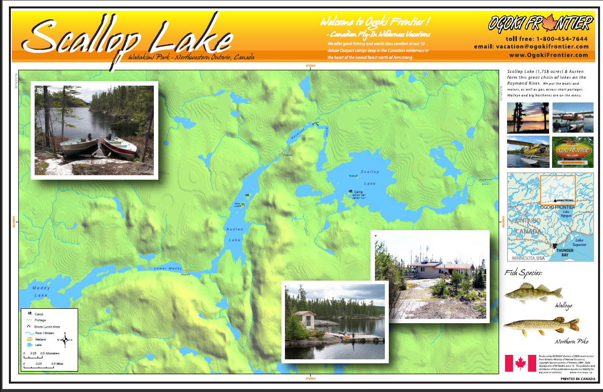 Ogoki Frontier Scallop Lake Outpost