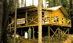 Northern Wilderness Outfitters Tessup Lake South Outpost