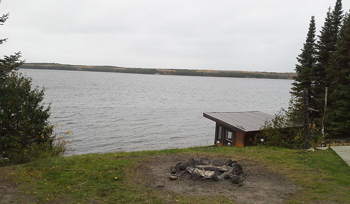 Northwood Outposts Wapesi Lake North Outpost