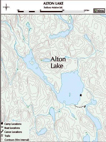Sudbury Aviation Alton Lake Outpost