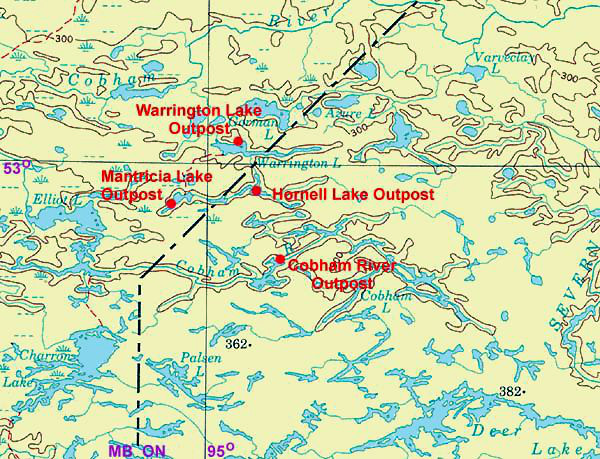 Sportman's Lodge and Manitoba Trophy Outposts