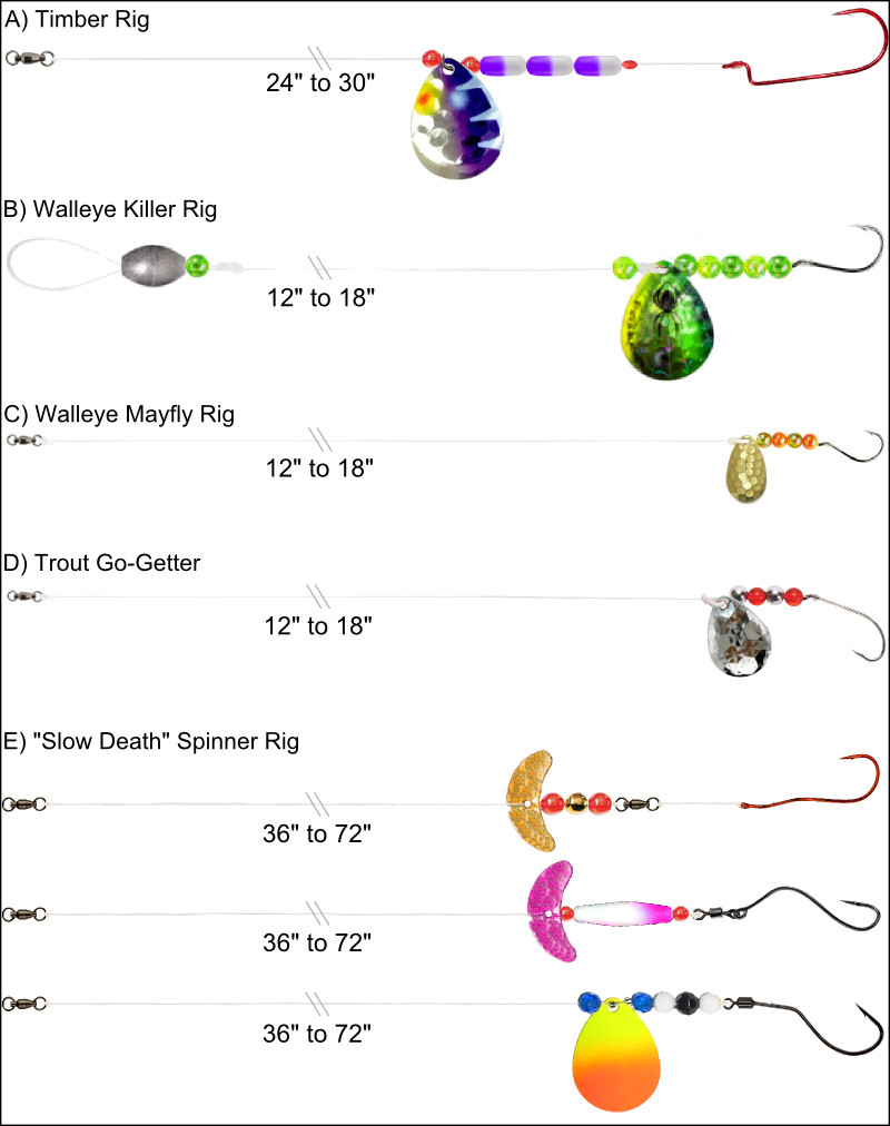 How to Tie a Walleye Spinner Harness | Fishing Outposts